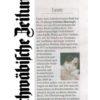 Article Schwaebische Zeitung 2011